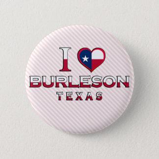 Burleson, Texas Pinback Button