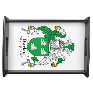 Burley Family Crest Serving Tray