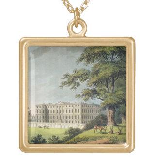 Burley, Rutlandshire (colour litho) Jewelry