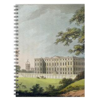 Burley, Rutlandshire (colour litho) Notebook