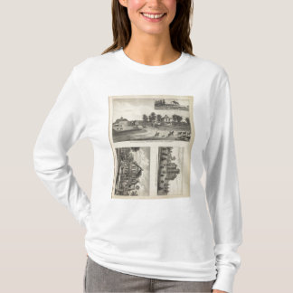 Burlington and Junction City, Kansas T-Shirt