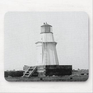 Burlington Breakwater North Lighthouse Mouse Pad