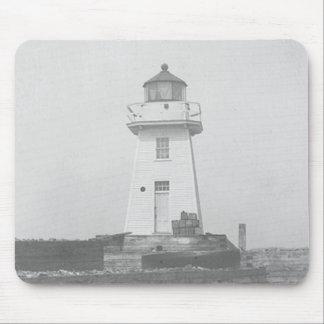 Burlington Breakwater South Lighthouse Mouse Pad