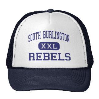 Burlington del sur - rebeldes - Burlington del sur Gorras De Camionero