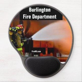 Burlington Fire Department Gel Mouse Pad
