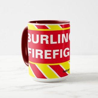 BURLINGTON FIREFIGHTER MUG