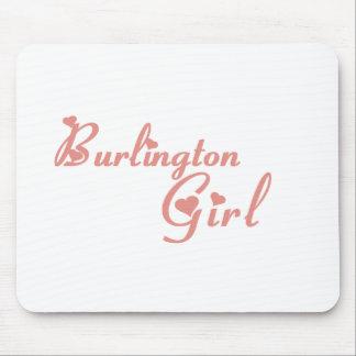Burlington Girl tee shirts Mouse Pad