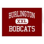 Burlington - linces - centro - Burlington Kansas Tarjeta De Felicitación