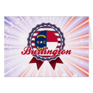 Burlington, NC Greeting Card