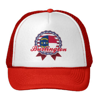 Burlington, NC Trucker Hat