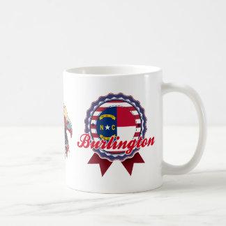 Burlington, NC Classic White Coffee Mug