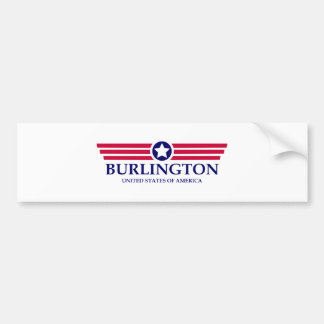 Burlington NC Pride Car Bumper Sticker