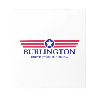 Burlington NC Pride Memo Note Pad