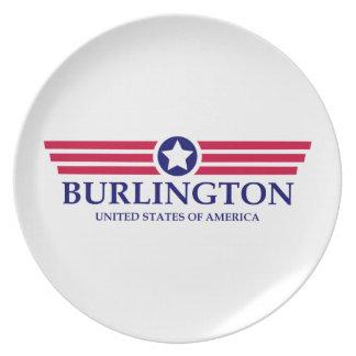 Burlington NC Pride Party Plate