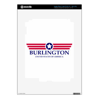 Burlington NC Pride iPad 3 Decal