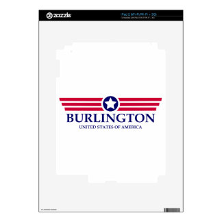 Burlington NC Pride Skins For The iPad 2