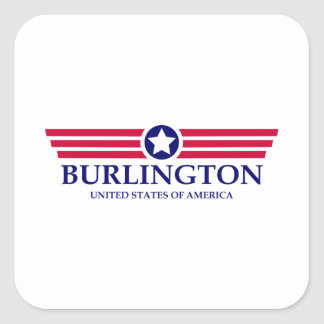 Burlington NC Pride Square Sticker