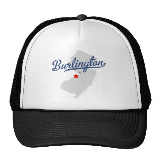 Burlington New Jersey NJ Shirt Trucker Hat