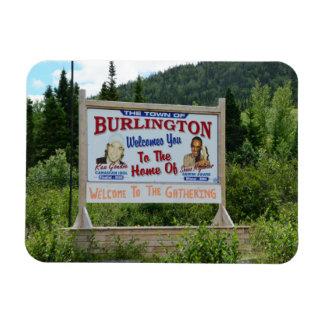 Burlington, Newfoundland, Souvenir Magnet
