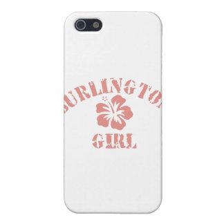 Burlington Pink Girl iPhone 5/5S Covers