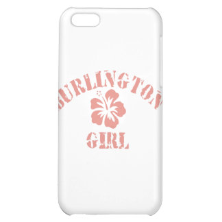 Burlington Pink Girl Cover For iPhone 5C