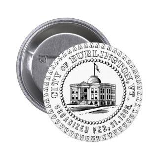 Burlington Proud Button
