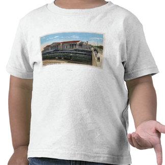 Burlington Railroad Station View T-shirt