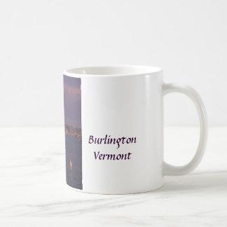 Burlington Vermont Lake Champlain Boats Coffee Mug