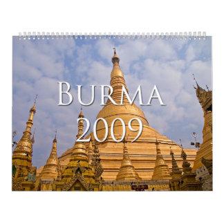 Burma 2009 Calendar