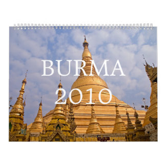 Burma 2010 Calendar