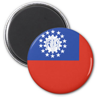 burma 2 inch round magnet