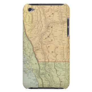 Burma and adjacent countries iPod touch Case-Mate case