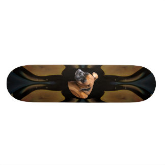 Burma Boxer Dog Skateboard