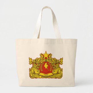 Burma Coat of Arms (2008) Canvas Bags