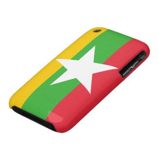 Burma Flag iPhone 3 Case-Mate Cases