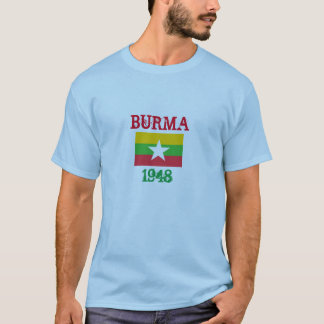 Burma Flag Custom Shirt