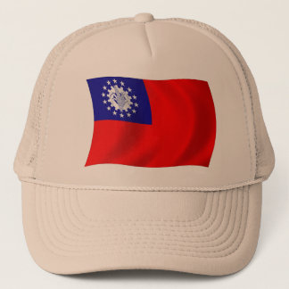 Burma Flag Hat