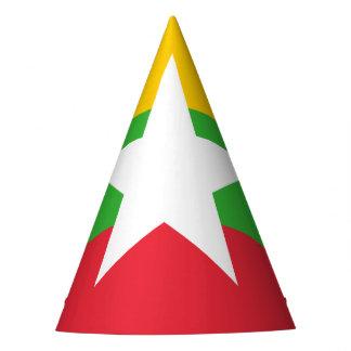 Burma Flag Party Hat
