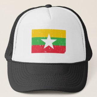 Burma Myanmar Flag Trucker Hat