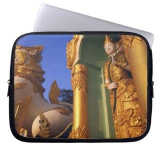 Burma (Myanmar), Rangoon (Yangon) Temple Computer Sleeves