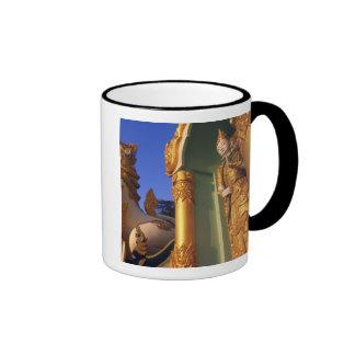 Burma (Myanmar), Rangoon (Yangon) Temple Coffee Mug