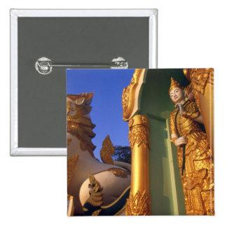 Burma (Myanmar), Rangoon (Yangon) Temple Pins