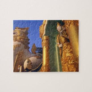 Burma (Myanmar), Rangoon (Yangon) Temple Jigsaw Puzzles