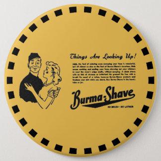 Burma Shave Adoring Eyes Button
