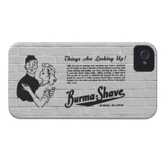 Burma Shave Adoring Eyes iPhone 4 Case