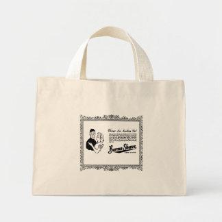 Burma Shave Adoring Eyes Mini Tote Bag