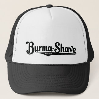 Burma-Shave shaving cream Trucker Hat