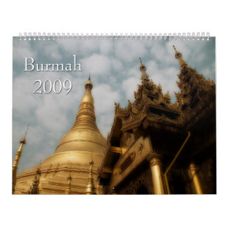Burmah 2009 Calendar