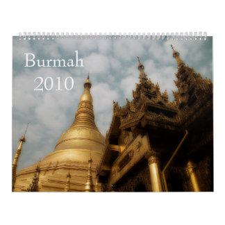 Burmah 2010 Calendar