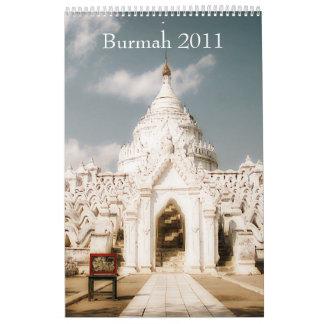 Burmah 2011 Calendar